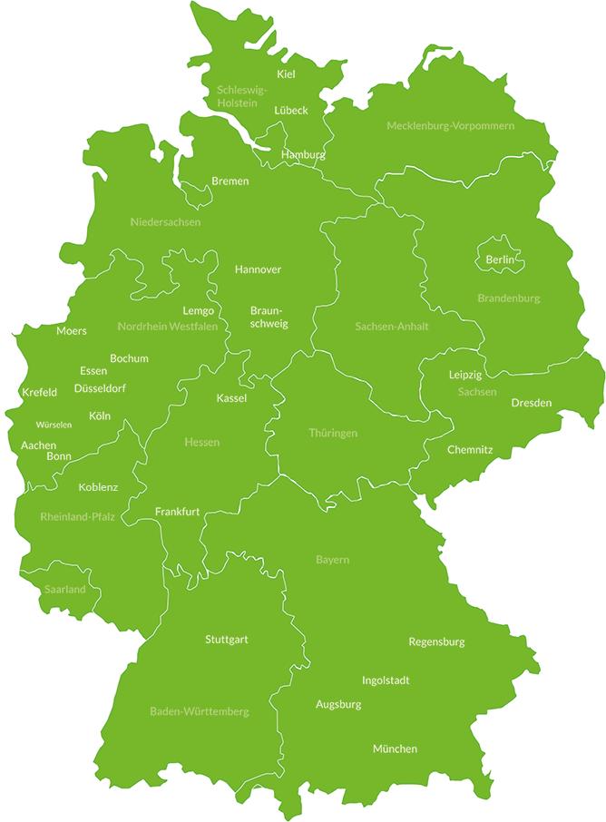 Dr. Z Standorte Deutschland