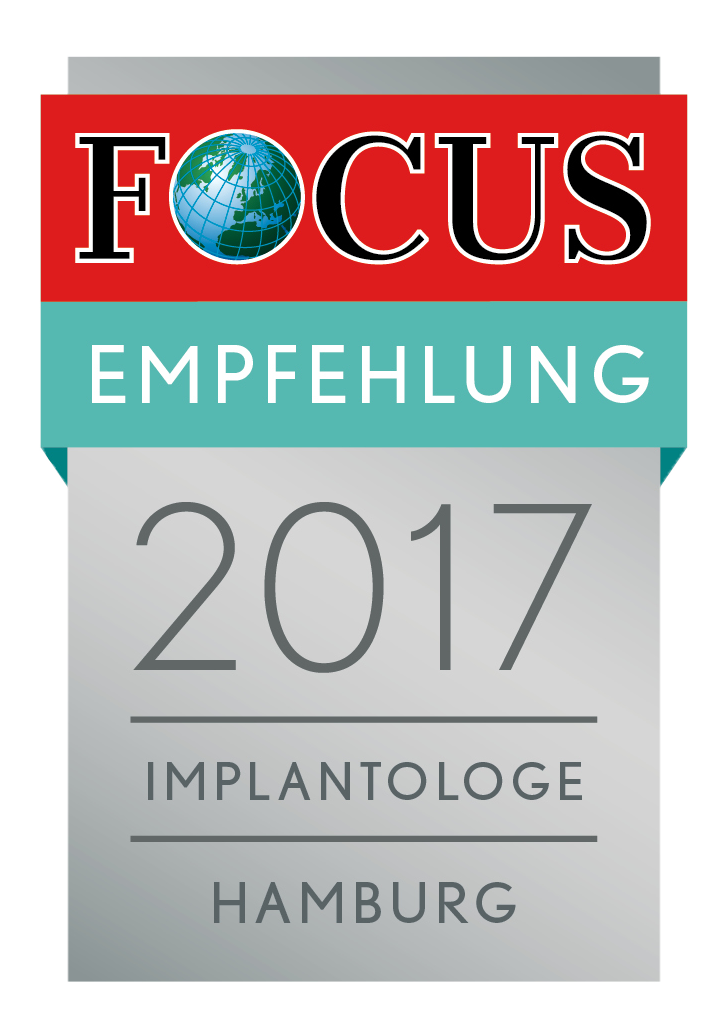 Focus Empfehlung 2017 Implantologie Hamburg