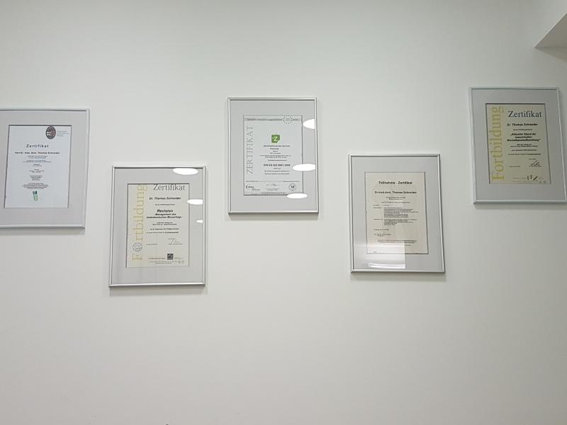 Zertifikate Chemnitz