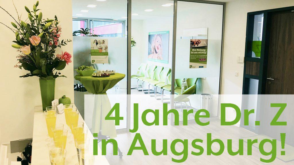 Einladung: Jubiläum 4 Jahre Dr. Z Augsburg am 11. September 2018
