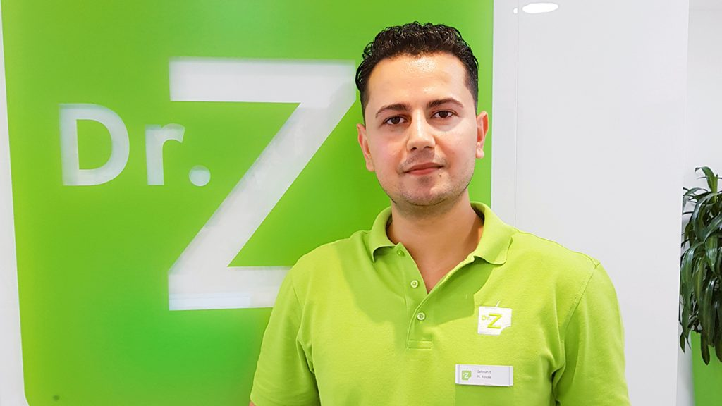 Neuer Zahnarzt für Bremen: Nader Alkousa