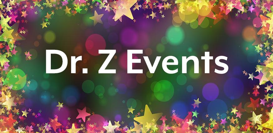 Einladung: 5 tolle Events bei Dr. Z